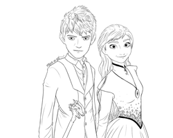 Jack and Anna as Jem and Tessa Carstairs by maria-m-art
