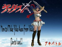 How to Make Yuko Asou from Valis Parts 1 and 2 by faytrobertson