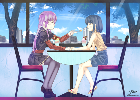 amy x chiha date by MlDAZ