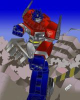 Optimus by RushBoy