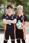 Haikyuu!! ~ Daichi and Sugawara by YamatoTaichou