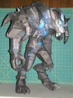Howzer Papercraft by ohiohd