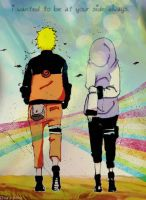 NaruHina _ Rainbows by ChiaSPoku