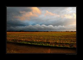 Row of Clouds by grugster