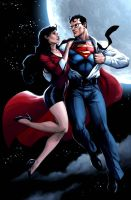 Lois and Clark by JPRart
