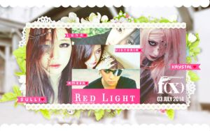 [WALLPAPER] F(x) - Red Light by SylpHollow