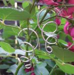 Free Form 14g Silver Earrings by lavadragon