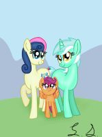 Request- Family Portrait by some-pegasister