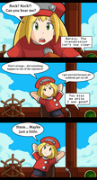 Megaman Legends Page 1-1 by DKLreviews