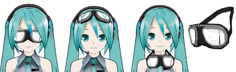 MMD- Goggles-DOWNLOAD by MMDFakewings18