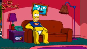 Homer simson by metochomorocho