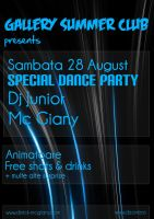 Gallery Summer Club Flyer 4 by djmyeloo