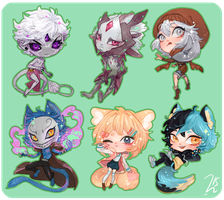 Chibi Com. Batch 6 by SunnyCove