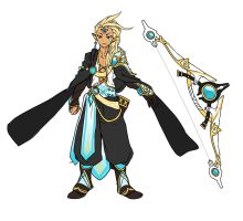 Drifting  Archer Auction ends in 1:30 Pacific by Girutea