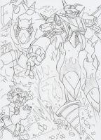 Digimon Fusion: Attack on Gigasmon! by BlueIke