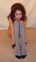 Striped Tights 18 by PariahRisingSTOCKS