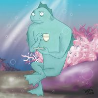 l'homme poisson by Konstance