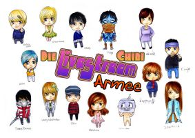 THE Chibi Armee by Honeyball-Cookie
