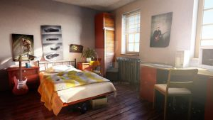 Bedroom by ociyo