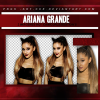 PACK PNG/ART 03: Ariana Grande by Pngs-Art-CCE