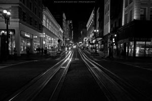 Tram Lines III by Val-Faustino