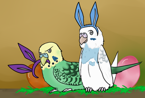 Easterbirds by Sixala