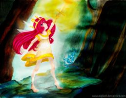 Aurora The Beautiful Child Of Light by Gigibell
