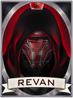 Blizzcon Badge: Revan by Kayley