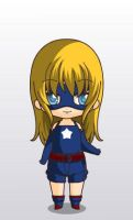 justice league stargirl chibi style by MAHGOL-DC-LOVER