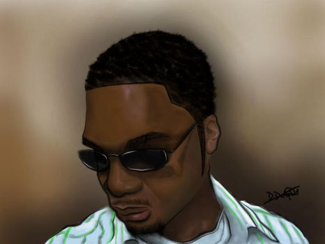Self Portrait by D-Dolphy