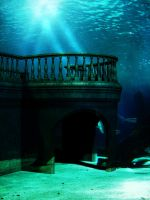 mermaidbackground4 by priesteres-stock