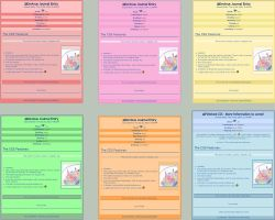 CSS: Colour Pack - 6 CSS by MaskedVengeance