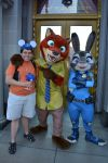 PhotoPass of Me, Judy Hopps, Nick Wilde, and Sonic by GregoryMoralesJR2016