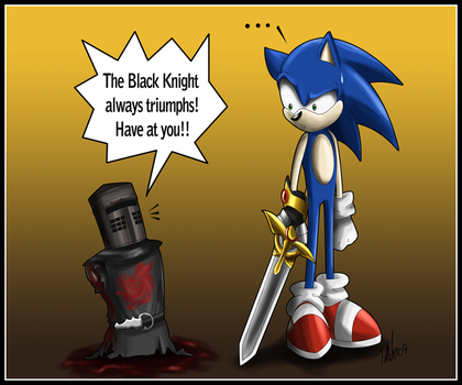 Sonic and the Black Knight by MetalPandora