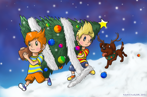 Xmas Mother 3 by Kanis-Major