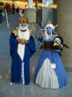 Ice King and Ice Queen by Eliza-1985