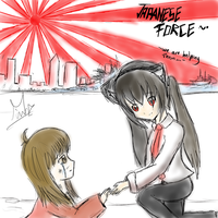 Japanese Force by Kat--Monster