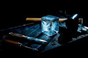 Handcrafted Ice Cube by *wulfman65