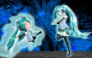 Hatsune vs Hachune by Primantis