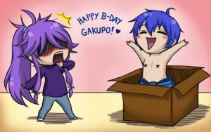 Happy B Day Gakupo chibi ver. by Midoka