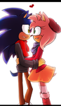 COLLAB sonamy by Klaudy-na