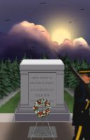 Tomb of the Unknowns by uncannyphantom