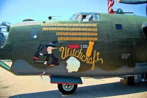 The Consolidated B-24J Liberator WITCHCRAFT 2 by StormbringerPhoto