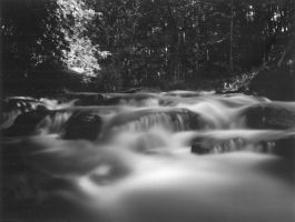 Rapids pinhole by coldmarble