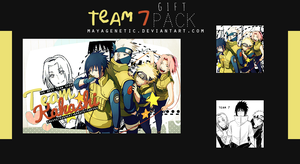 Gift Pack for GabyGomita ( Team 7 ) by MayaGenetic