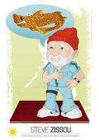Philippines Commission #2 - Steve Zissou by happymonkeyshoes