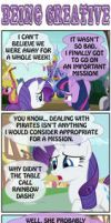 PONY SHORTS - BEING CREATIVE by PONYMAAN