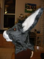 Burrito~ Finished donkey Head by Saixpuppy222