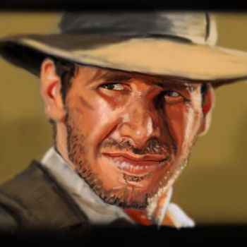 Indiana Jones by ChristopherChrisps