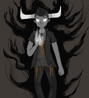 Tavros: Commune with HorrorTerrors by Smudgeful-Thinking